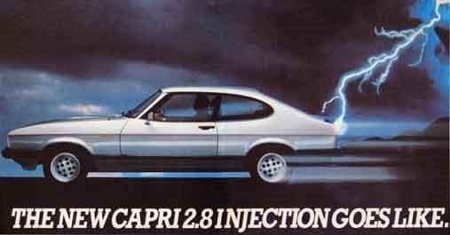 for sale 1982 ford capri sold bicester sports classics. Black Bedroom Furniture Sets. Home Design Ideas