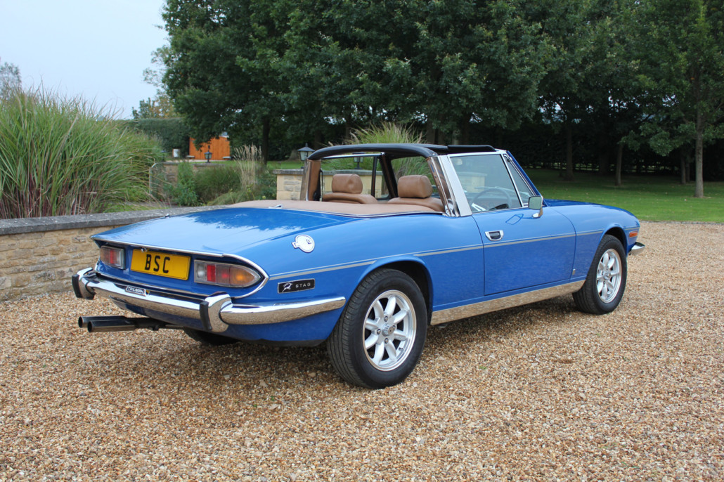 For Sale 1977 Triumph Stag Auto Sold Bicester Sports
