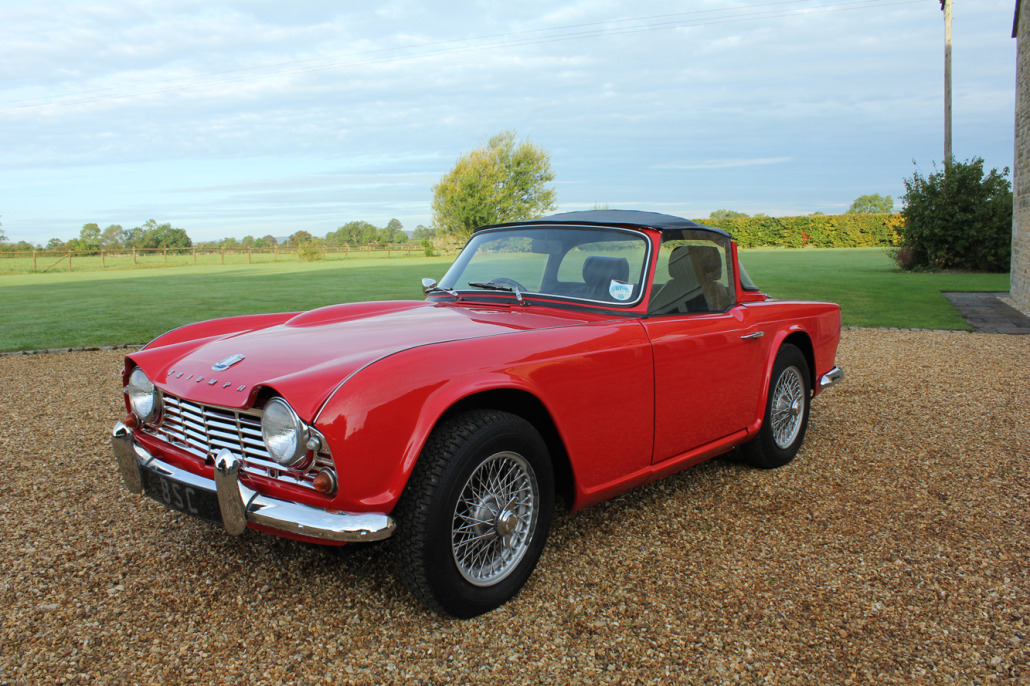 For Sale 1964 Triumph Tr4 Sold Bicester Sports Amp Classics