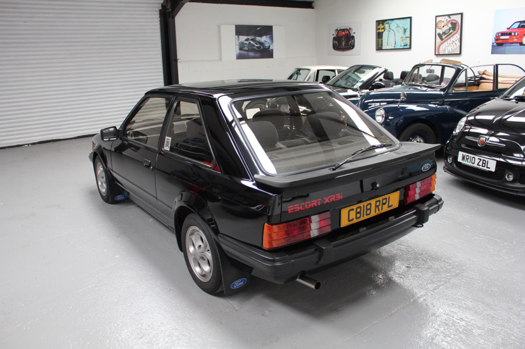 New Ford Car >> 1985 Ford Escort XR3i - Sold - Bicester Sports & Classics