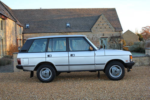 Used Land Rovers >> 1987 RANGE ROVER CLASSIC EFI - SOLD - Bicester Sports & Classics