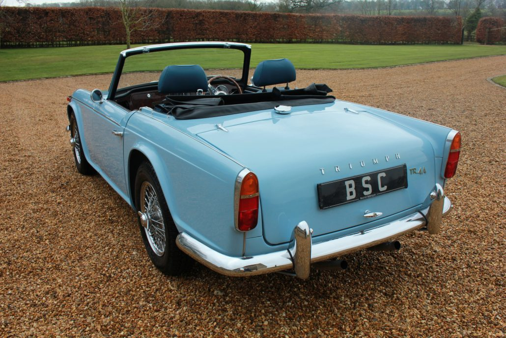 for sale 1965 triumph tr4a surrey top and hood. Black Bedroom Furniture Sets. Home Design Ideas