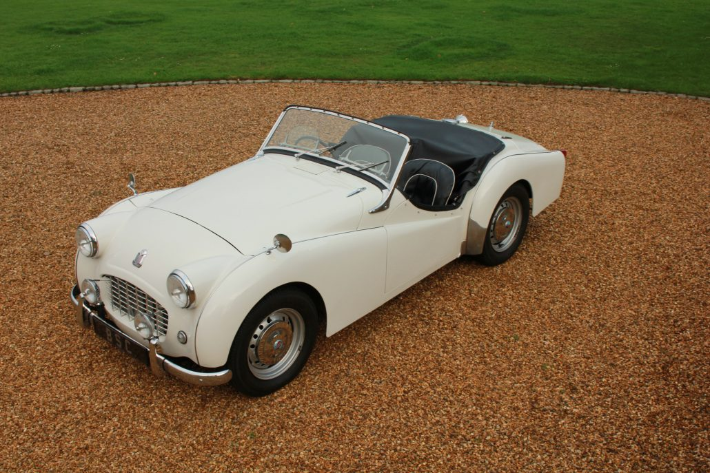 for sale 1957 triumph tr3 small mouth bicester sports. Black Bedroom Furniture Sets. Home Design Ideas