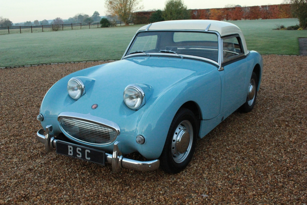 1959 Austin Healey Frogeye Sprite Sold Bicester Sports