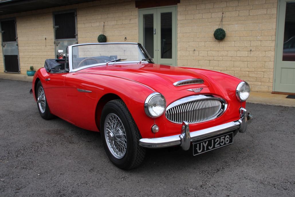 1962 AUSTIN HEALEY 3000 MK2 A