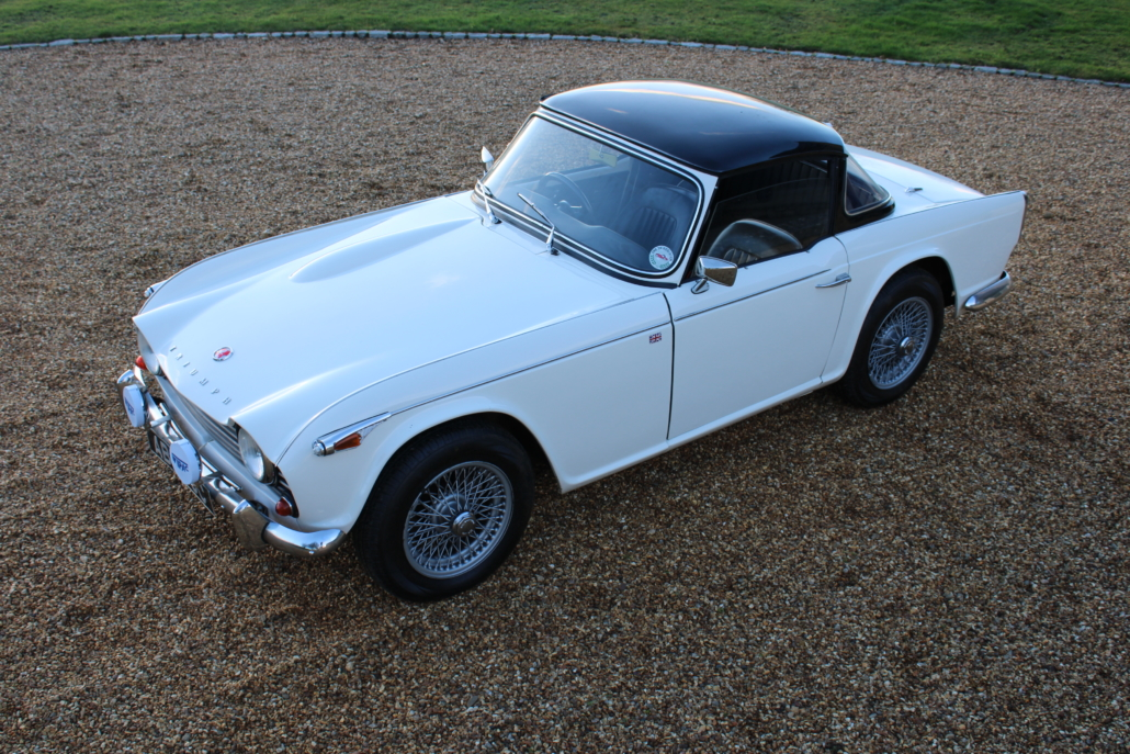 1965 triumph tr4a sold bicester sports classics. Black Bedroom Furniture Sets. Home Design Ideas